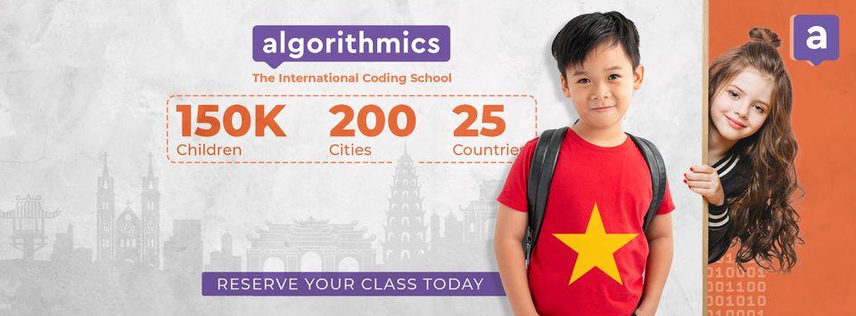 Trường lập trình quốc tế Algorithmics cần tuyển nhân viên part-timers làm việc tại Quận 2